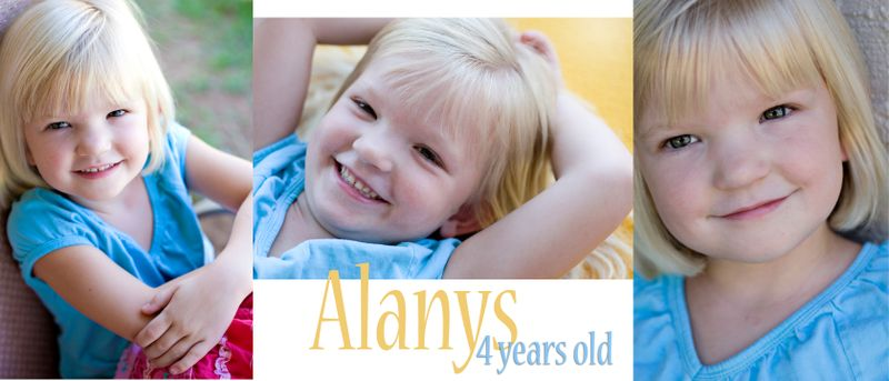 Alayns 4 years old